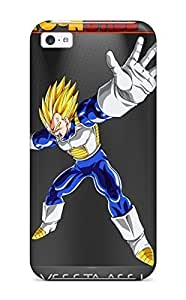 9105675K41523340 Tpu Case Cover Compatible For Iphone 5c/ Hot Case/ Dbz Vegeta
