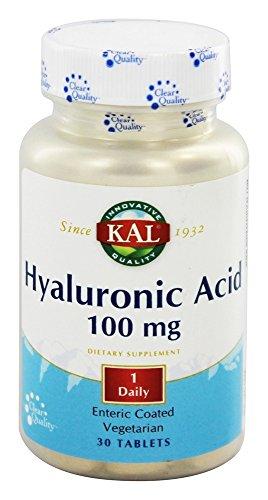 Hyaluronic Acid 100mg Kal Tabs
