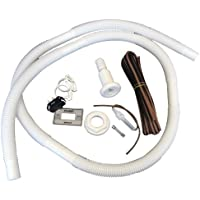 ATTWOOD MARINE 4116-5 / Attwood Bilge Pump Installation Kit w/Switch, 3/4 Hose Clamps & 20 Wire Fuse Holder