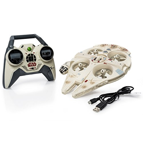 Air Hogs Star Wars Remote Control Millennium Falcon Quad]()