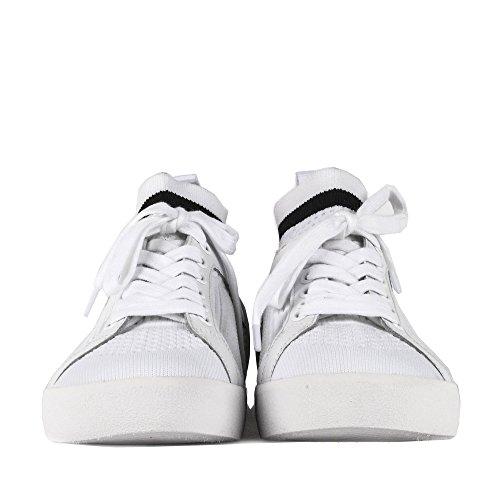 Femme Blanc Baskets Chaussures Ash Blanc Nolita 4AqICAw7x