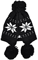 Simplicity Warm Women Ladies Knit Beanie Cap Ear Flap Winter Hat