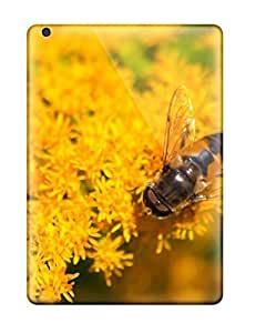 Cute Appearance Cover/tpu OuRbqQO860uCJsJ A Bee On Some Yellow Flowers Case For Ipad Air