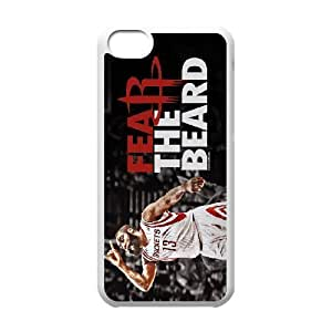Generic Cell Phone Cases For Iphone 5c Cell Phone Design With 2015 NBA #13 James Harden Houston Rocket niy-hc828968