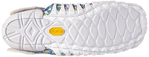 Vibram Fivefingers Furoshiki Original, Scarpe da Ginnastica Basse Unisex-Adulto Multicolore (White Flower)