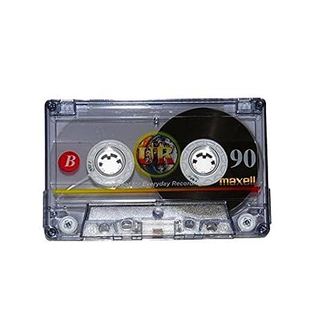 Maxell MAX-UR90P5 - Cinta de audio/video, Pack de 5: Amazon.es: Informática
