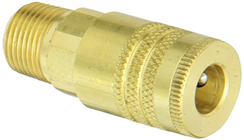 Dixon Valve DC3703 Brass Air Chief ARO Speed Air Fitting, Quick-Connect  Coupler, 1/4