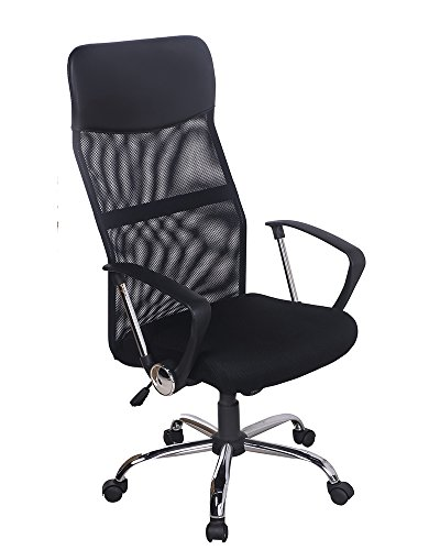 Merax Mesh Adjustable Chair, Black