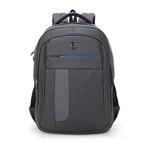 Grey Nylon Bolsa Para Hombre Bolso Computadora Portátil De De La Fz1qaz