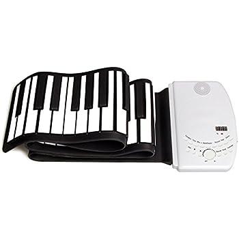 S61 High Quality Portable 61 Keys Flexible Piano USB MIDI Electronic Keyboard