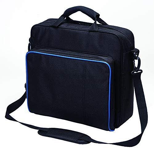 New Travel Storage Carry Case Protective Shoulder Bag Handbag for Playstation PS4, PS4 Pro and PS4 Slim System Console Carrying Bag and Accessories #81050 (Black-Large) by Beststar (Image #2)