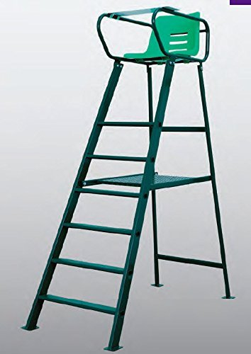 Umpires Chair Tennis (Har-Tru Tennis, Bocce, Golf Court Accessories - Chairs - Royale Deluxe Umpire Chair - complete unit)