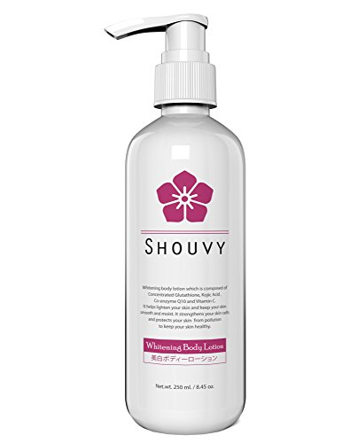 Whitening Body Lotion - Natural Skin Lighteners With Glutath