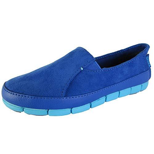 Electric 36 Blue De Terciopelo Crocs Alpargatas Mujer 37 And Cerulean Eu Para Azul CHTwzBvq