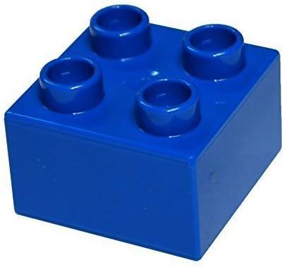LEGO Parts and Pieces: Duplo Blue (Bright Blue) 2x2 Brick x20