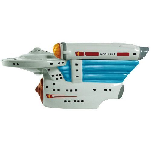 Westland Giftware Ceramic Cookie Jar, Star Trek Warp Drive, 5.75-Inch by Westland Giftware