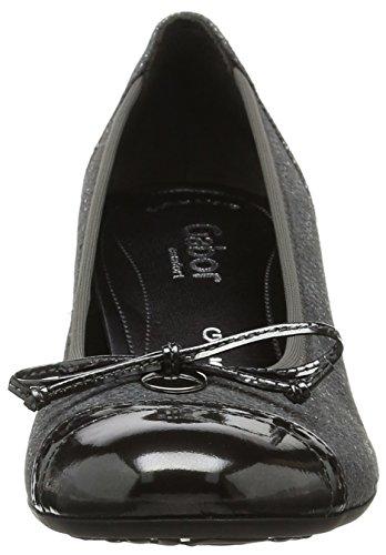 Comfort Fashion Foncé Femme Steel Escarpins Gris Shoes Gabor EYw1q5Y