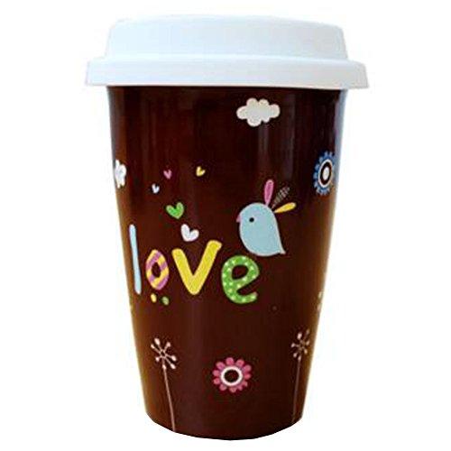 Creative Couple Milk Cup Breakfast Cup Mug Cup Coffee Cup Coffee