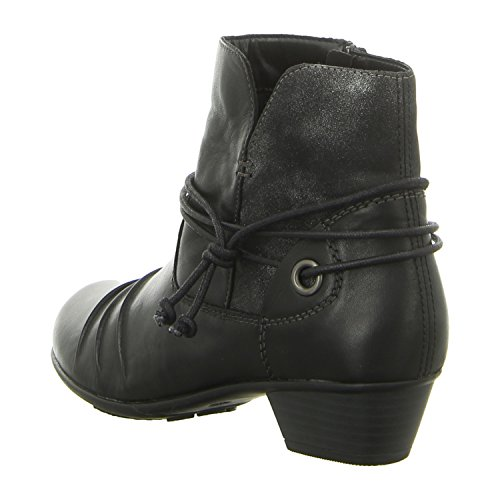 Black Black Black Remonte D7368 Boots 01 Women's qwZIU8