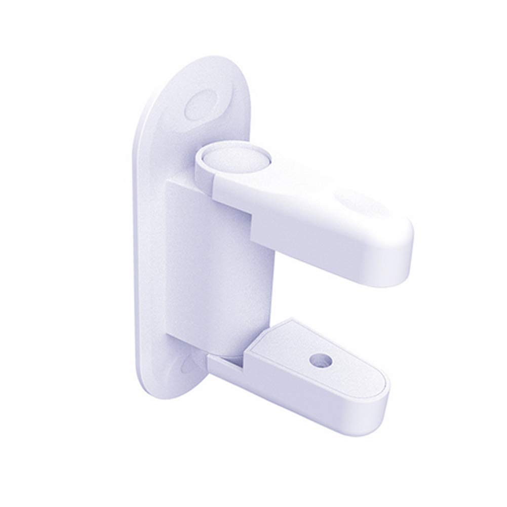 Door Lever Lock Child Proof Door Handle Safety Proofing Lock Latche White Naisidier