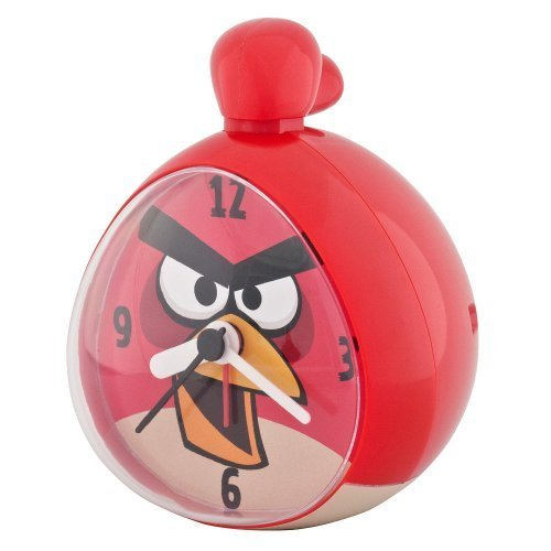 1 X Angry Birds Alarm Clock Red