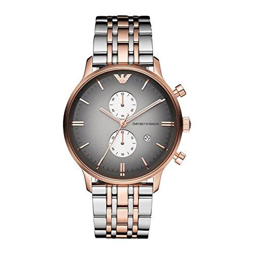 i Classic Rose Gold Men's Watch AR1721 (Emporio Armani Rose)