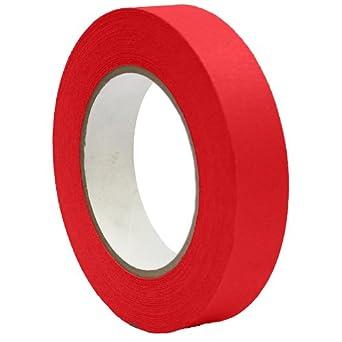 """Masking Tape Red 1""""x 55 Yards"""