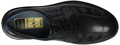 Josef Seibel Harry 15, Zapatos de Cordones Derby para Hombre, Schwarz (Schwarz), 40 EU