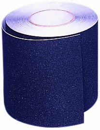 Mutual 17768 Aluminum Oxide Non Skid Abrasive Safety Tape, 60' Length x 4'' Width, Black