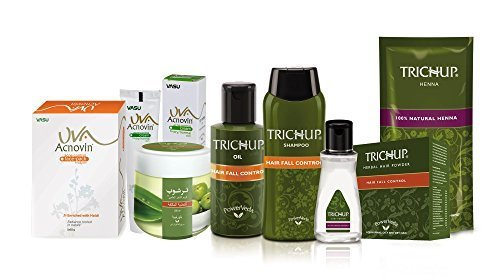 Trichup Hair Care & Uva Skin Care Combo by Vasu Healthcare