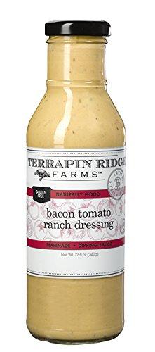 Terrapin Ridge Farms Bacon Tomato Ranch Dressing 12 FL OZ (Pack of 1)