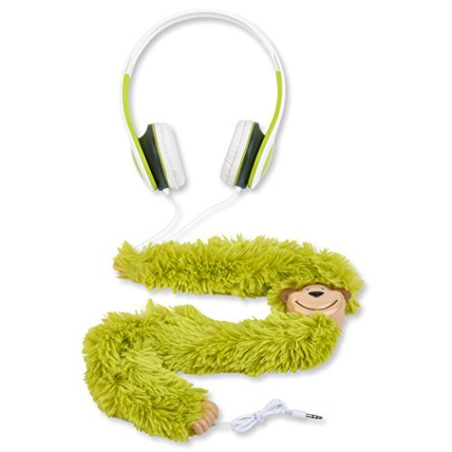 Monkey Buds Ear Headphones For Kids, Children, Baby Girl and