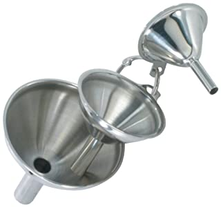 Danesco 1344411 1.75-Inch by 2.25-Inch by 3-Inch Stainless Steel Mini Funnel, Set of 3 (B0089DBB2G) | Amazon Products