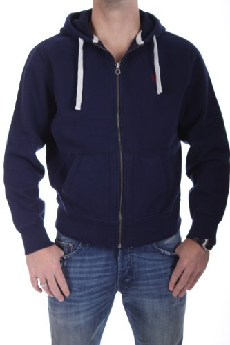Polo Ralph Lauren Men's Full Zip Fleece Hoodie Sweatshirt Small Cruise - Men Tracksuit Polo Lauren Ralph