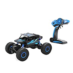 Specifications: Product Name: all-wheel-drive climbing car, suv, mountain remote control car Functions: forward, backward, turn left, turn right, can climb obstructions, metope 90 degrees can climb Body rechargeable battery pack 3.7 V power s...
