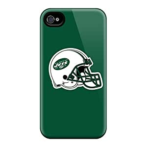 High-quality Durability Case For Iphone 4/4s(new York Jets 3)