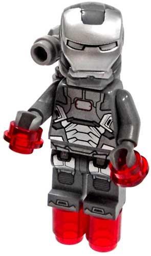 LEGO Super Heroes Iron Man 3 War Machine Minifigure with Shoulder-Mounted  Gun
