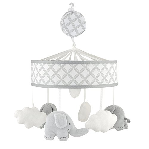 Just Born Musical Mobile, Grey Elephants from Just Born