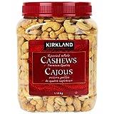 Kirkland Signature Whole Cashews, 1.13 kg