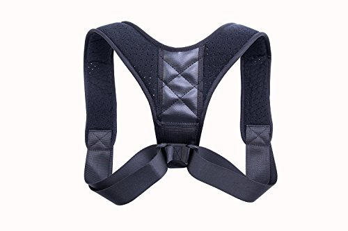 Posture Corrector Support Brace for Women & Men,Back Shoulder Posture Brace Adjustable Clavicle Brace to Improve Posture, Prevent Slouching and Back Pain Relief by Dr.Jin