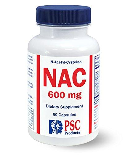 N-acetyl Cysteine 600 Mg 60 Capsules