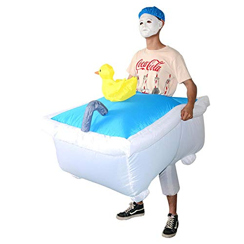 funny bathtub adult costume