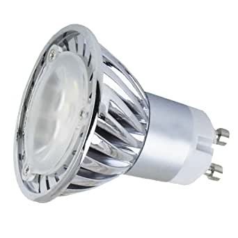 110v 3w Gu10 Led Bulb 3200k Warm White Spotlight