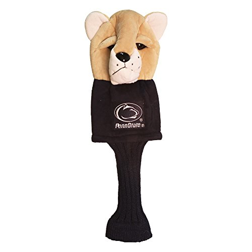 Team Golf NCAA Penn State Nittany Lions Mascot Golf Club Headcover, Fits most Oversized Drivers, Extra Long Sock for Shaft Protection, Officially Licensed -