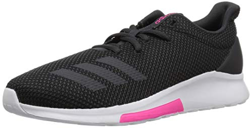 adidas Women's Puremotion Running Shoe, Black/Carbon/Shock Pink, 7 M US
