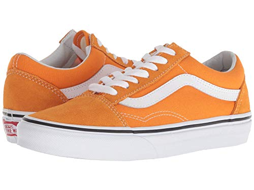 Vans Old Skool Dark Cheddar/True White,Size 10 M US Women / 8.5 M US Men (Vans Woman Neon)