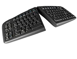 Goldtouch V2 Adjustable Ergonomic Keyboard -- PC and Mac Compatible (USB)