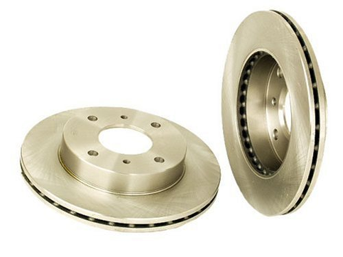 Brembo 25317 Front Ventilated Brake Rotor without Anti-Lock Braking System