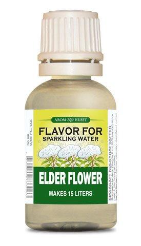 Aromhuset 30ml (15L) Sugar Free Sparkling Water Flavor - Elder (Elder Flower Extract)