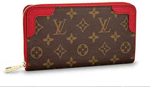 bedd7fbbadd Louis Vuitton Monogram Zippy Wallet Retiro Cherry Article  M61854 Made in  France